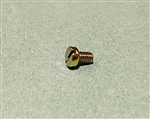 Yellow Zinc Plated Cheese Head Screw -  DIN 84 - M4x6