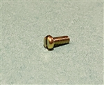 Yellow Zinc Plated Cheese Head Screw -  DIN 84 - M4x10