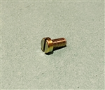 Yellow Zinc Plated Cheese Head Screw -  DIN 84 - M6x12
