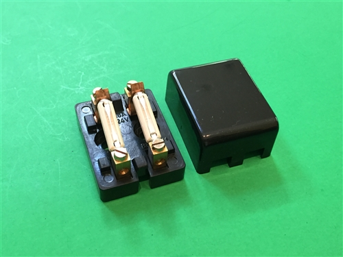 Dual Mercedes Fuse Holder With Cover