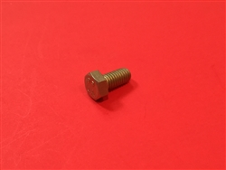 Hex Head Cap Screw M6x10  DIN 933 - Yellow Zinc Plated