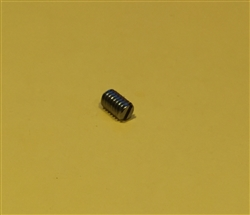Slotted Set Screw with Flat Point - DIN 551 - M3x4 Stainless