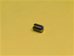 Slotted Set Screw with Flat Point DIN 551 - M2.5x4 SS