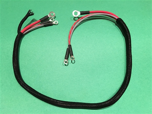 starter motor wiring harness for mercedes 280sl 113ch rh authenticclassics com motor harness connector power wheels motor harness clips for 2005 hyundai santa fe