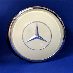 Complete Ivory color Horn Button with Emblem for 300SL Coupe Steering Wheel