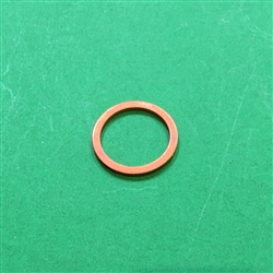 Copper Seal Ring  - 14 x 18 x 1.5mm   DIN 7603