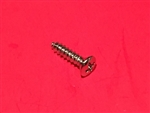 Mercedes Chrome Plated Oval Head Screw - 2.9 x 13
