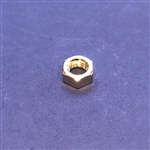 M7 Nut - Din 934 - Yellow Zinc Plated Steel