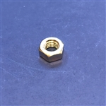 M8 Nut - Din 934 - Yellow Zinc Plated Steel