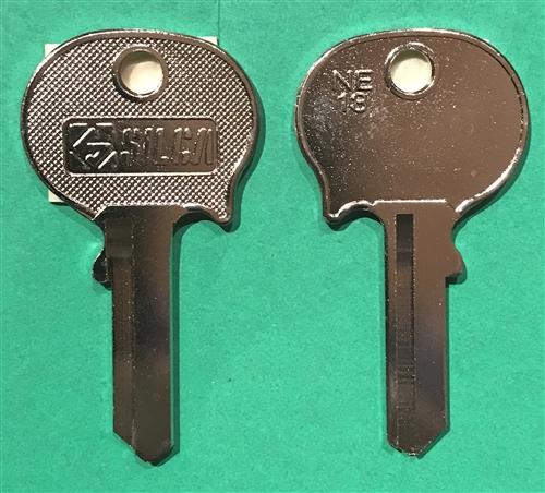 NOS Neiman Key Blank for 190 220s 230 250 W108 W110 W111 W113