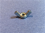 Zinc Plated steel Wing Nut - 5mm Thread