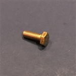 Hex Head Cap Screw M6x16 DIN 933 - Yellow Zinc Plated