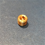 Brass Tapered Pipe Plug for Brake Switch Port -  10x1mm