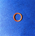 Copper Seal Ring  - 10x14x1mm   DIN 7603