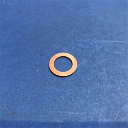 Copper Seal Ring  - 10x16x1mm   DIN 7603