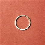 Aluminum Seal Ring  - 18x22x1.5mm   DIN 7603