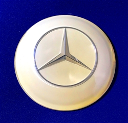 Ivory Color Horn Button / Emblem for Mercedes 300SL Roadster, 190SL