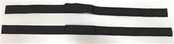 Set of Folding Top Straps in Black - for 230SL 250SL 280SL