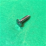 CHROME PLATED FLAT HEAD SHEET METAL SCREW - DIN 7982 - 4.2 x 13