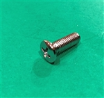 Chrome Plated Oval Head Screw DIN 966 - M5x16