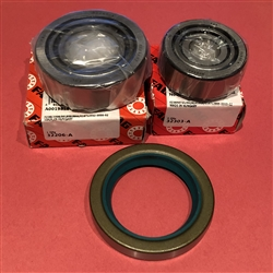 Front Axle Bearing/Seal Kit- 105,120,121,128,180Ch.