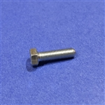 Hex Head Cap Screw M7x25  DIN 933 - Zinc Plated
