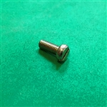 Yellow Zinc Plated Cheese Head Screw -  DIN 84 - M5x12