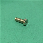 Cheese Head Screw -  DIN 84 - M6x18 - Yellow Zinc Plated