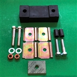 Repair Kit for Exhaust System Mounting - 190SL, 220S, 220SE, 300SL + others