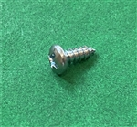 Pan Head Screw - DIN 7981 - 2.9 x 9.5 Zinc Plated