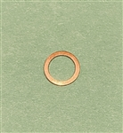 Copper Seal Ring  - 8x11.5x1mm   DIN 7603
