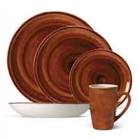 Terracotta CRAFT - 20 Piece Coupe Set