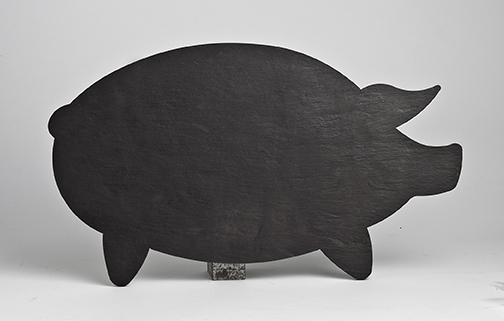 11 X 19 Pig Cheese Charcuterie Serving Platter