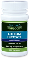 Lithium Orotate dietary supplement mood support neurobiologix dr kendal stewart