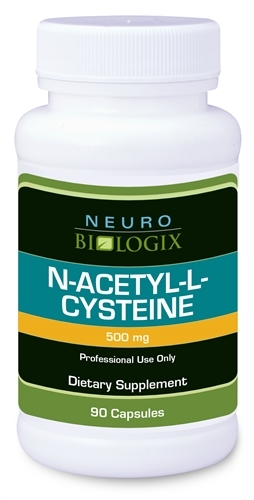 N-Acetyl-l-Cysteine natural detoxification supplement