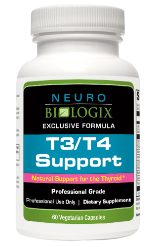 natural support for thyroids T3/T4 Support - 60 Capsules