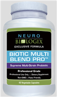 multri-strain probiotic supplement support 60 count