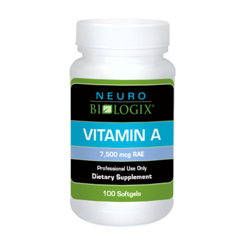 100 Softgels Vitamin A Dietary Supplement