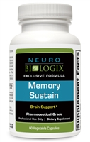 memory support supplement 60 count
