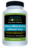 NeuroNutrients vitamin Supplement 120 count