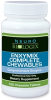 Enxymix Complete Chewable - 180 Chewables (Natural Cherry Flavor!)