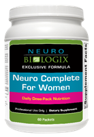 Neuro Complete Supplement for Women 60 packets
