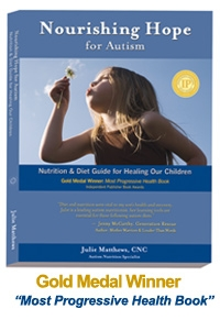 nourishing hope for autism book by julie matthews