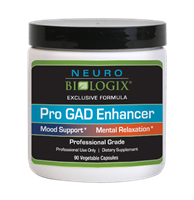 Pro GAD Enhancer - 90 Vegetable Capsules / CURRENTLY BEING REFORMULATED / OUT OF STOCK