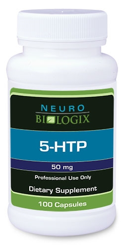 5-HTP (L-5-Hydroxytryptophan) 50mg - 100 Capsules