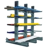 "Standard Duty Cantilever Rack with 18"" Arms"