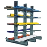 "Standard Duty Cantilever Rack with 24"" Arms"
