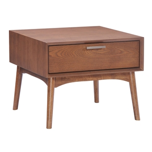 Design District Side Table Walnut