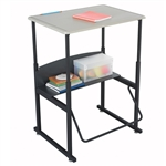 "20""d x 28""w Small AlphaBetter Desk for creative students"