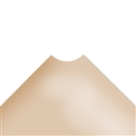 "12""d Plastic Wire Shelf Liners - Beige"